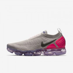 Nike Air VaporMax Unisex Gray Pink Running Shoes AH7006 201