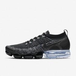 Womens Nike Air VaporMax Flyknit 2 Black White Running Shoes 942842 016