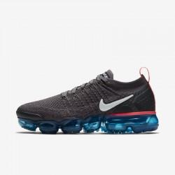 Womens Nike Air VaporMax Flyknit 2 Black White Running Shoes 942843 009
