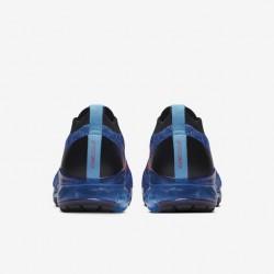 Air VaporMax Flyknit 3 Orange Blue Unisex Running Shoes AJ6900 401