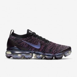 Air VaporMax Flyknit 3 Purple Black Blue Unisex Running Shoes AJ6900 007