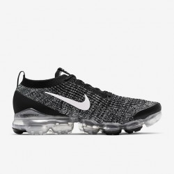 Nike Air VaporMax Flyknit 3 Black White Black Unisex Running Shoes AJ6900 001