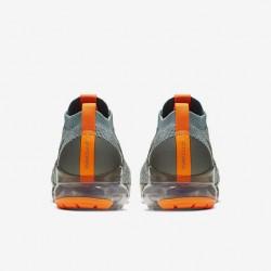 Nike Air VaporMax Flyknit 3 Blue Orange Unisex Running Shoes AJ6900 003