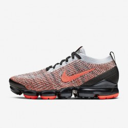 Mens Air VaporMax Flyknit 3 Fuchsia Black Gray Running Shoes AJ6900 800