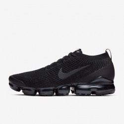 Nike Air VaporMax Flyknit 3 Black Gray Unisex Running Shoes AJ6900 004