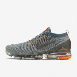 Nike Air VaporMax Flyknit 3 Blue Orange Unisex Running Shoes AJ6900 003