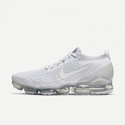 Nike Air VaporMax Flyknit 3 Gray White Unisex Runing Shoes AJ6900 102