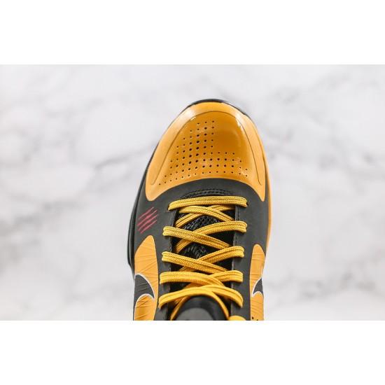 Nike Kobe 5 Protro Mens Basketball Shoes 386429 701 Yellow Black Sneakers