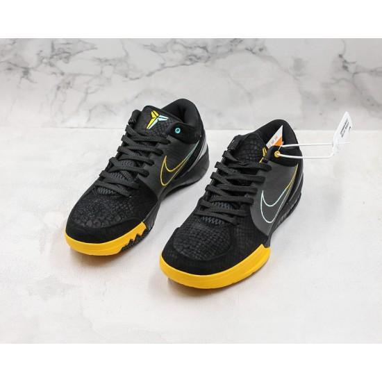Nike Kobe IV Protro Basketball Shoes AV6339-002 Yellow Black Sneakers