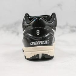 Nike Kobe IV Protro Gray Black White Basketball Shoes