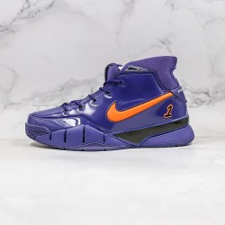 Kobe Bryant Nike Basketball Shoes Deep Blue Orange Sneakers