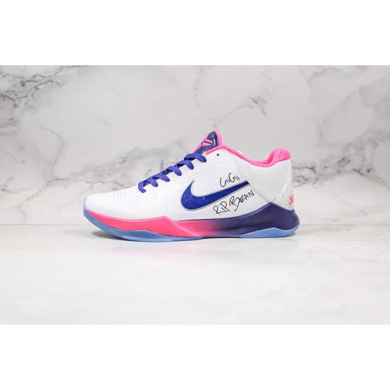 Nike Kobe 5 Protro Mens Basketball Shoes CD4991-600 Gray Pink Sneaker