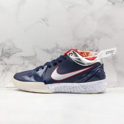 Nike Kobe IV Protro Deep Blue Gray White Basketball Shoes