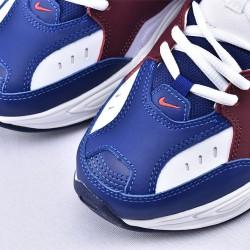 Nike M2K Tekno Blue White Khaki Sneakers AV4789-107 Unisex Running Shoes
