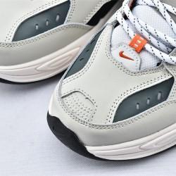 Nike M2K Tekno Gray Black Orange Sneakers CI2969-001 Unisex Running Shoes