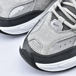 Nike M2K Tekno Gray Black Sneakers BV7075-001 Unisex Running Shoes