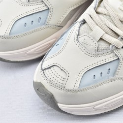 Nike M2K Tekno Gray Orange Sneakers AO3108-001 Unisex Running Shoes
