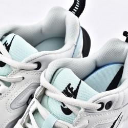 Nike M2K Tekno White Gray Black Sneakers AO3108-013 Running Shoes