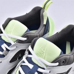 Nike M2K Tekno White Gray Blue Sneakers AV4789-106 Unisex Running Shoes