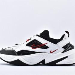 Nike M2K Tekno Black White Red Sneakers AV4789-104 Running Shoes