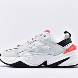 Nike M2K Tekno Women Gray Orange Black Sneakers AO3108-401 Running Shoes