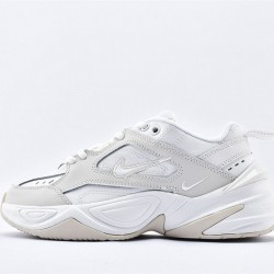 Nike M2K Tekno Womens Gray White Sneakers AO3108-006 Unisex Running Shoes