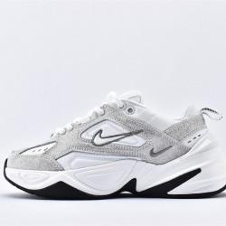 Nike M2K Tekno Womens White Gray Sneakers BQ3376-020 Running Shoes