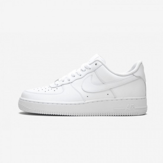 "Nike Air Force 1 07 ""White on White"" 315122 111 White White/White Running Shoes"