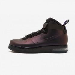 "Nike Air Force 1 Foamposite ""Kobe Bryant"" 415419 550 Black Varsity Purple/Varsity Prpl-Bl Running Shoes"
