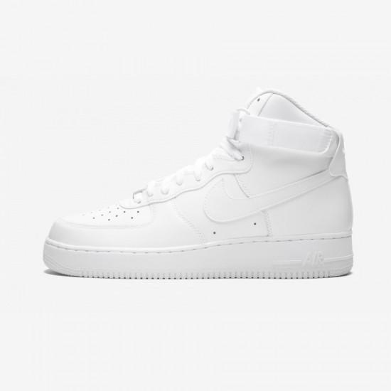 "Nike Air Force 1 High 07 ""White on White"" 315121 115 White White/White Running Shoes"