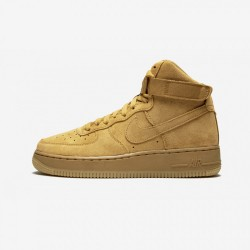 Nike Air Force 1 High LV8 (GS) 807617 701 Brown Wheat/ Wheat-Gum Light Brown Running Shoes