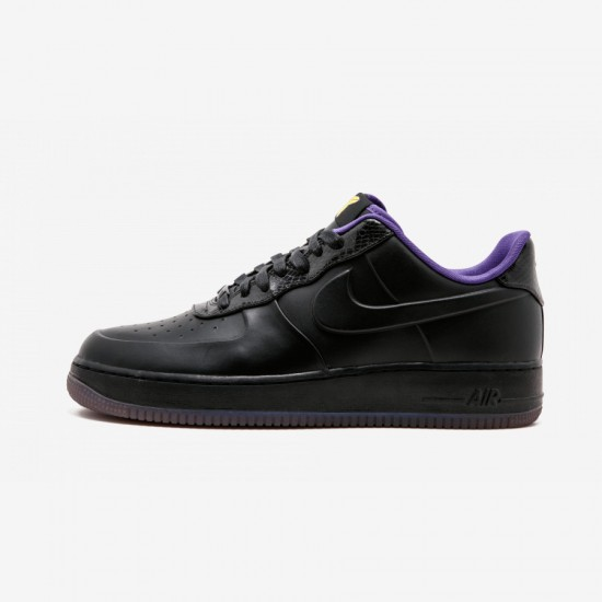 "Nike Air Force 1 LW SUP VT ""Kobe Bryant"" 453433 001 Black Black/Blk-Vrsty Prpl-Vrsty Mz Running Shoes"