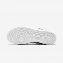 "Nike Air Force 1 MID 07 / Supreme ""NBA"" AQ8017 100 White White/White Running Shoes"