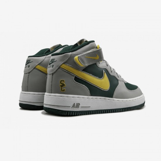 Buy Nike Air Force 1 Mid 306352 371 Green Black Forest/Zest-Magnet ...