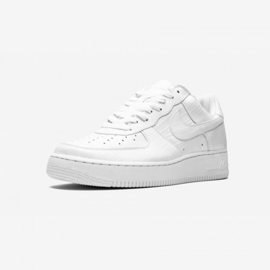 Nike HTM Air Force 1 305895 111 White White/White-Neutral Grey Running Shoes