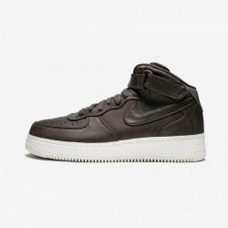 Nikelab Air Force 1 MID 905619 200 Brown Velvet Brown/Velvet Brown Running Shoes