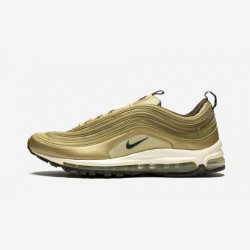 Nike Air Max 97 310851 721 Brown Metallic Gold/Dark Cender Orme Running Shoes