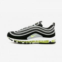 Nike Air Max 97 921826 004 Neon Green Black/Volt-Metallic Silver Running Shoes