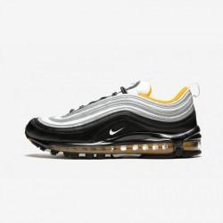 Nike Air Max 97 921826 008 Black Black/White-Amarillo Running Shoes