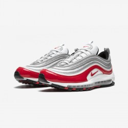 Nike Air Max 97 921826 009 Red Pure Platnium/University Red Running Shoes