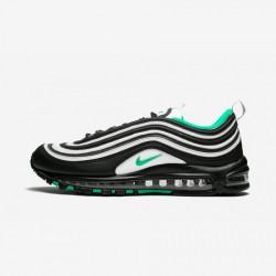 Nike Air Max 97 921826 013 Black Black/Clear Emerald-White Running Shoes