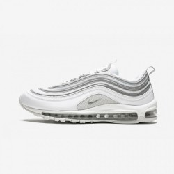 Nike Air Max 97 921826 105 Silver  White/Wolf Grey-Reflect Silver Running Shoes