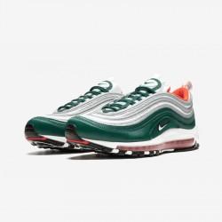 Nike Air Max 97 921826 300 Green Rainforest/White-Team Orange Running Shoes