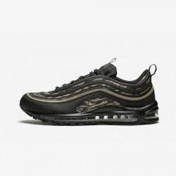 Nike Air Max 97 AOP AQ4132 001 Beige Black/Khaki-Velvet Brown Running Shoes