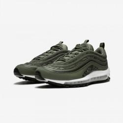 Nike Air Max 97 AOP AQ4132 200 Black Medium Olive/Medium Olive Running Shoes