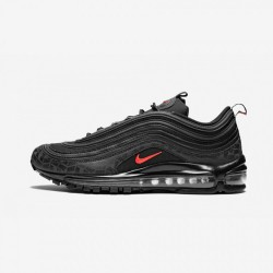 Nike Air Max 97 AR4259 001 Black Black/University Red-Black Running Shoes