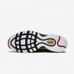 Nike Air Max 97 AT5458 002 Black Black/Varsity Red-Metallic Gol Running Shoes