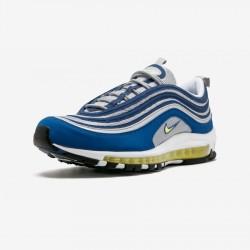 "Nike Air Max 97 ""Atlantic Bluee"" 921826 401 Neon Green Atlantic Blue/Voltage Yellow Running Shoes"