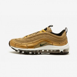 Nike Air Max 97 CR7 AQ0655 700 Gold Metallic Gold/Fir Running Shoes