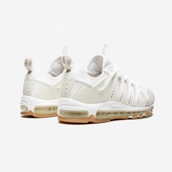 "Nike Air Max 97 / Haven / Clot ""CLOT - Sail"" AO2134 100 White White/Off White-Sail Running Shoes"